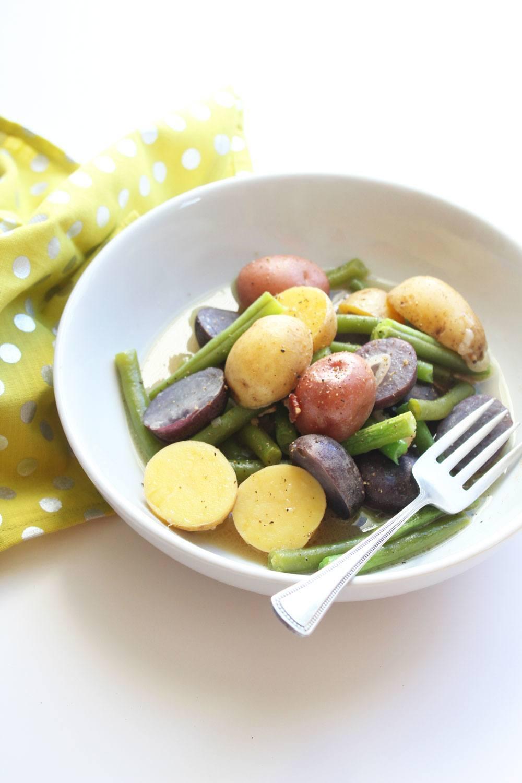 bean and potatoes recipe