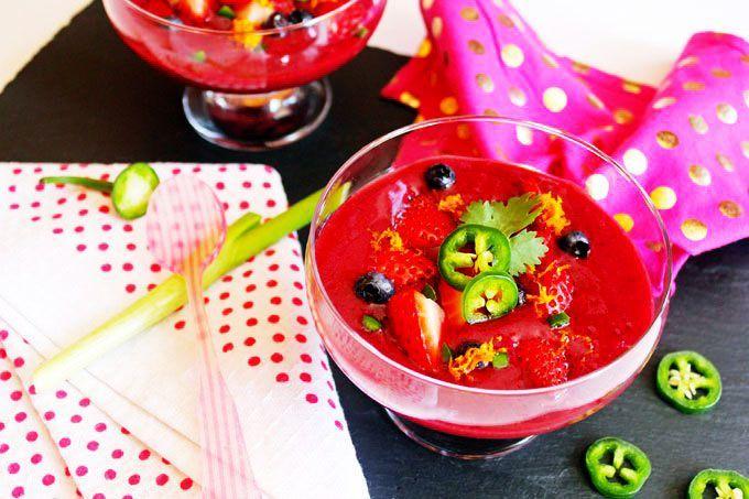berry gazpacho